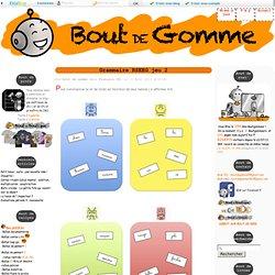 Grammaire RSEEG jeu 2