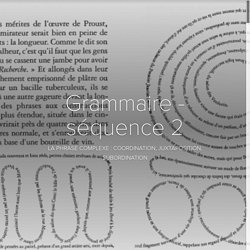 Grammaire - séquence 2