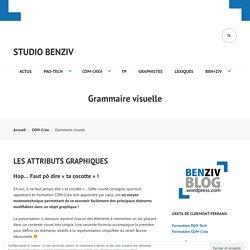 Grammaire visuelle – Studio BenZiv