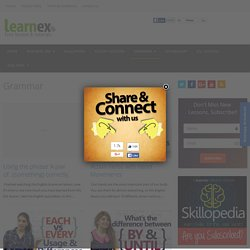 Grammar Archives - Learnex - Free English lessons