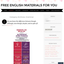 Free English materials for you