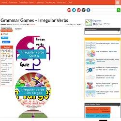 Grammar Games - Irregular Verbs