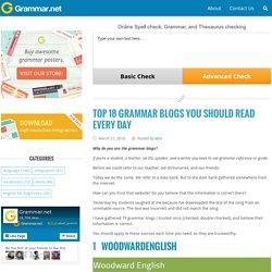 Grammar Newsletter - English Grammar Newsletter