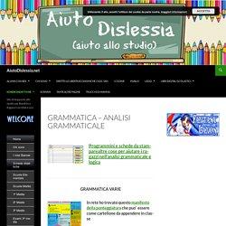 Grammatica 1ª Media