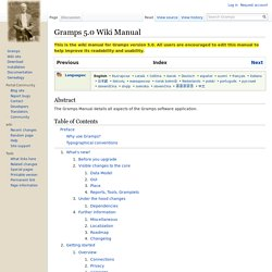 Gramps 5.0 Wiki Manual - Gramps