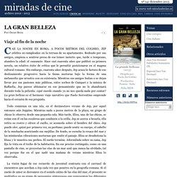 La gran belleza - miradas.net nº 141, diciembre 2013