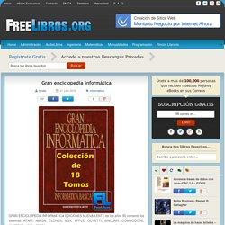 Gran enciclopedia informática