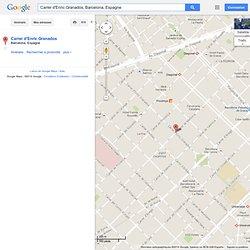Carrer d'Enric Granados - GoogleMaps