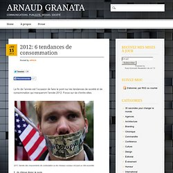 Arnaud Granata, le blogue des influences montréalaises