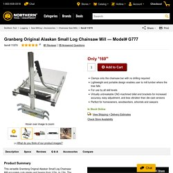 Granberg Original Alaskan Small Log Chainsaw Mill — Model# G777
