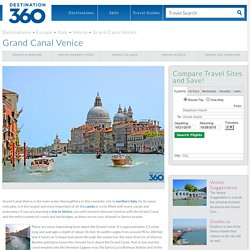 Grand Canal Venice - Facts About the Grand Canal