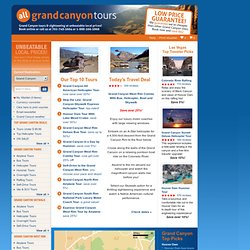 Grand Canyon Tours, Helicopter Tours, Grand Canyon Tours from Las Vegas | All Grand Canyon Tours