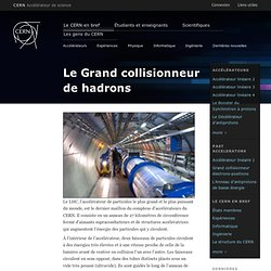 Le Grand collisionneur de hadrons