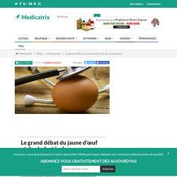 MEDICATRIX - Le grand débat du jaune d'œuf et du cholestérol