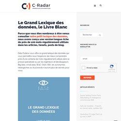Le Grand Lexique des données, le Livre Blanc - C-Radar