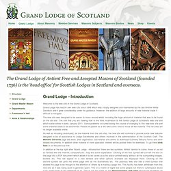 Grand Masonic Lodge of Scotland