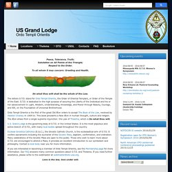 US Grand Lodge, OTO: Main page