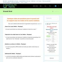 Grand Oral