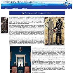 Grand orient de Belgique : Accueil