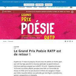 Participer au Grand Prix Poésie de la RATP