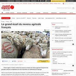 Le grand écart du revenu agricole français