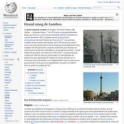 Grand smog de Londres