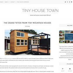 The Grand Teton From Tiny Mountain Houses - TINY HOUSE TOWN