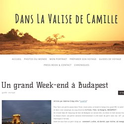 Un grand Week-end à Budapest - Site de danslavalisedecamille !