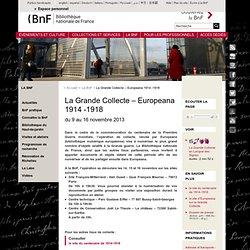 La Grande Collecte – Europeana 1914 -1918