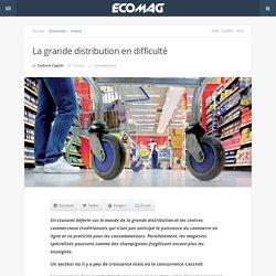 La grande distribution en difficulté - Eco Mag