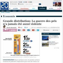 Grande distribution: La guerre des prix n'a jamais été aussi violente