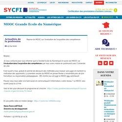 MOOC Grande Ecole du Numérique - SYCFI