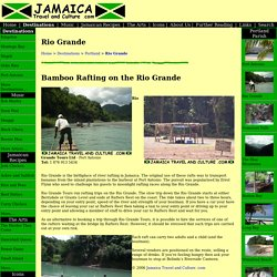 Rio Grande - Jamaica Travel and Culture .com