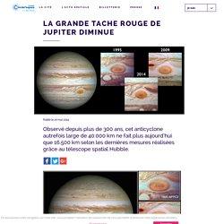 La Grande Tache Rouge de Jupiter diminue - Cité de l'Espace