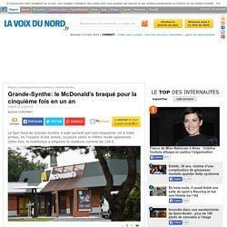 Grande-Synthe: le McDonald's braqué pour la cinquième fois en un an