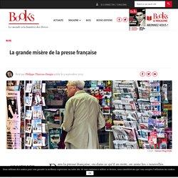La grande misère de la presse française