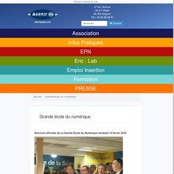 Grande école du numérique - Avenir84