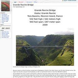 Grande Ravine Bridge - HighestBridges.com