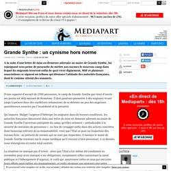 Grande Synthe : un cynisme hors norme