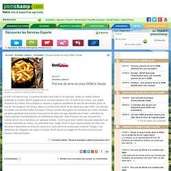 REUSSIR 22/12/11 Pomme de terre et colza OGM à l'étude
