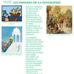 Les Grandes Découvertes : les progrès de la géographie