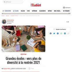Grandes écoles : vers plus de diversité à la rentrée 2021 - L'Etudiant