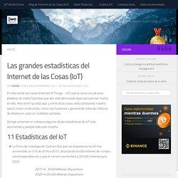 Las grandes estadísticas del Internet de las Cosas (IoT) ~ IoT World Online