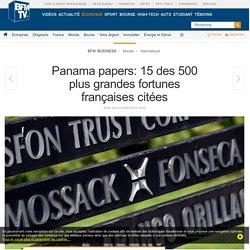 Panama papers: 15 des 500 plus grandes fortunes françaises citées