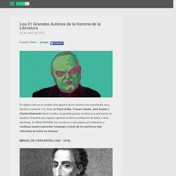 Los 21 Grandes Autores de la historia de la Literatura - el blog de filmin
