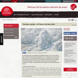 Grandes marées : la France n'est pas prête