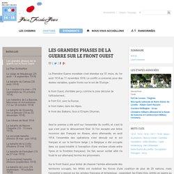 Les grandes phases de la guerre sur le front Ouest- Chemins de mémoire de la Grande Guerre en Nord-Pas de Calais