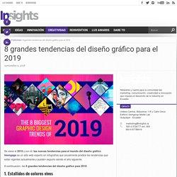 8 grandes tendencias del diseño gráfico para el 2019 - Insights Media