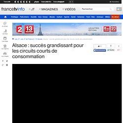 FRANCETVINFO 28/02/13 Alsace : succès grandissant pour les circuits courts de consommation