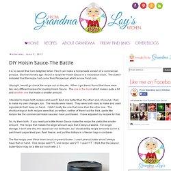 DIY Hoisin Sauce-The Battle